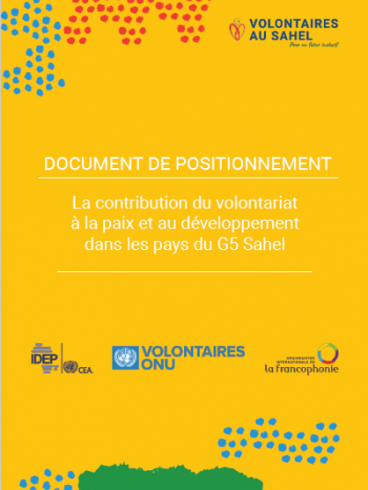Contribution of Volunteerism to Peace and Development in the G5 Sahel Countries