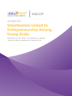Volunteerism Linked to Entrepreneurship Among Young Arabs