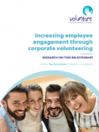 Increasing employee engagement through corporate volunteering